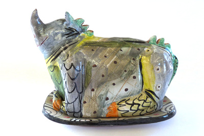 Ceramic Animal Butter Dishes Suki Diamond Home Living